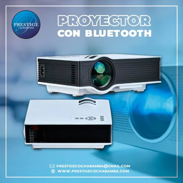 Proyector- Data con Bluetooht