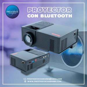 Proyector- Data con Wifi y Bluetooth